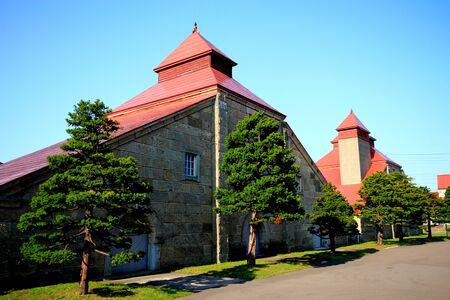 Hokkaido Otaru City Yoichi Town Nikka Whiskey Factory landscape