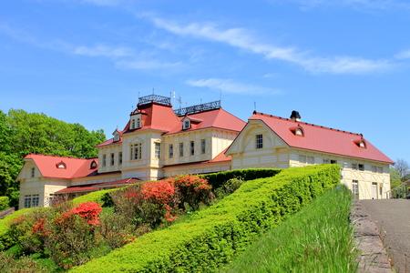 In Hokkaido, Sapporo in Hokkaido Historical Village, Landscape at Old Sapporo Station