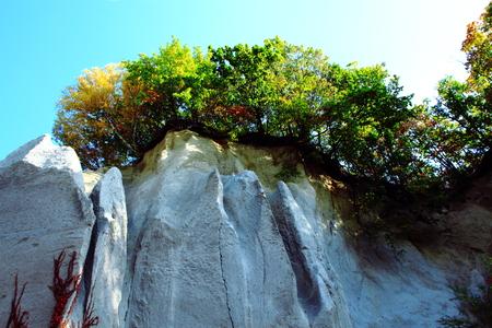 In Hokkaido, Sapporo, Ishiyama parkland park Fall scenery