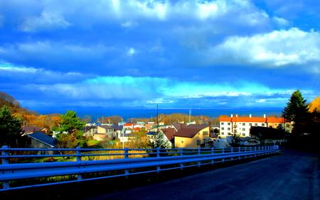 Scenery of the city of Otaru, Stock fotó