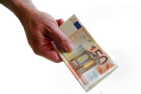 Money euro Фото со стока