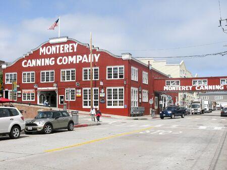 sardinas: Monterey sardinas Canning Company, Cannery Row, Monterrey, California, EE.UU.