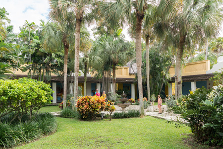 florida house: Bonnet House estate and museum in Fort Lauderdale, Florida, USA