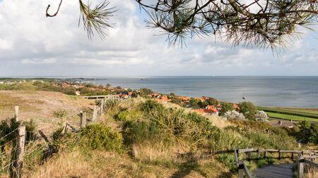 wadden: Wadden Sea and dunescape of the West Frisian island Vlieland, Netherlands