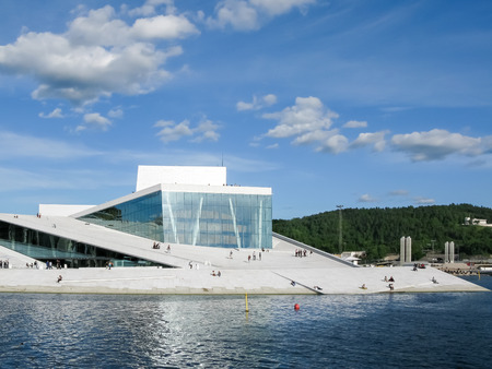scandinavia: The Oslo Opera House at the Oslofjord in Central-Oslo, Norway, Scandinavia