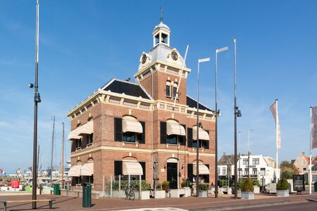 Former court house Havenmantsje in Harlingen, Friesland, Netherlands