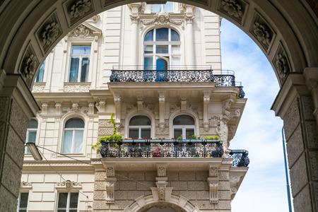 inner city: Apartments on Rathausplatz near Ringstrasse in inner city of Vienna, Austria