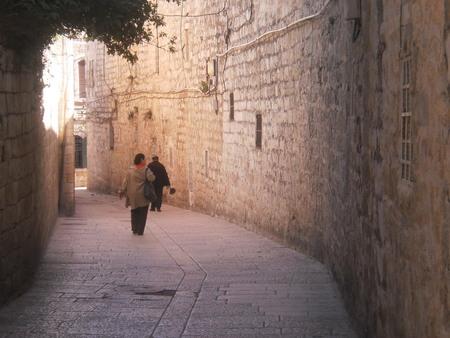 Jewish Quarter Jerusalem Imagens