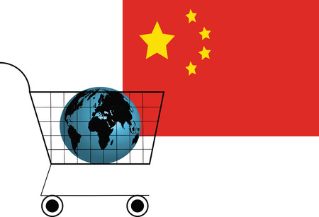 The World Buys Chinese Products Ilustrace
