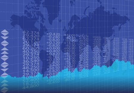 Stock Quotes, Stock Chart And World Map