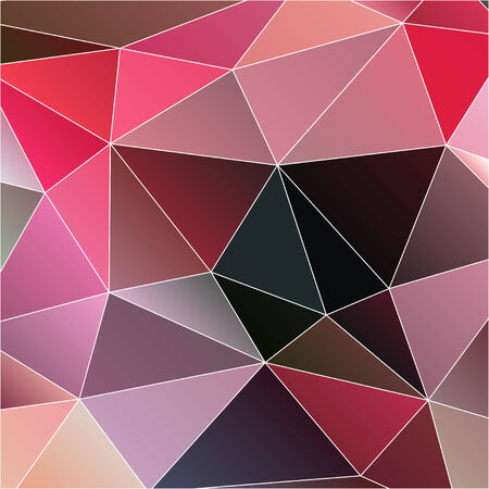 polyhedral: modern abstract  polygonal  Illustration
