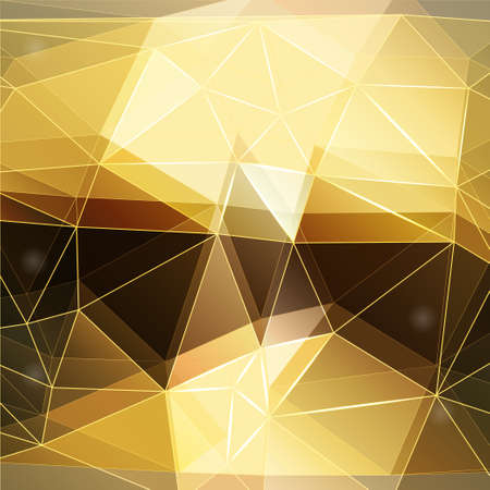 polyhedral: Modern abstract  polygonal background, vector