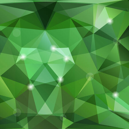 polyhedral: Modern triangles background with geometric shapes Illustration