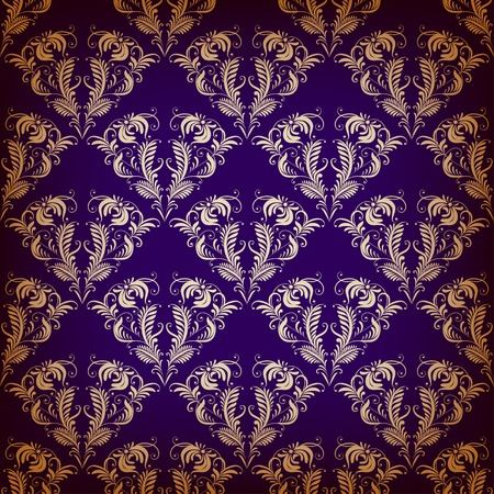 violet background: Senza soluzione di Damasco su sfondo viola. Wallpaper Reale.