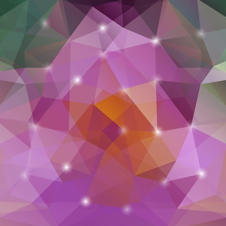 polyhedral: abstract geometric background with polygons.