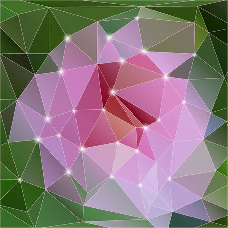 Vector abstract geometric background with polygons. Vector