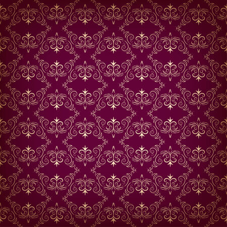 Vector vintage seamless with ethnic pattern Vector