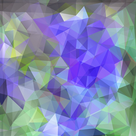 polyhedral: Modern geometric background with polygons