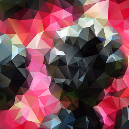 polyhedral: Abstract background with polygons for design, vector