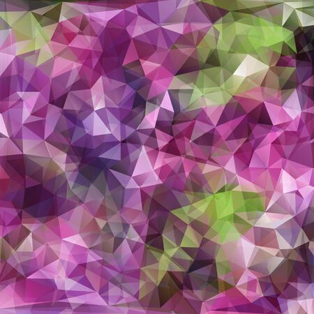 polyhedral: modern abstract polygonal background with violet color for design Illustration
