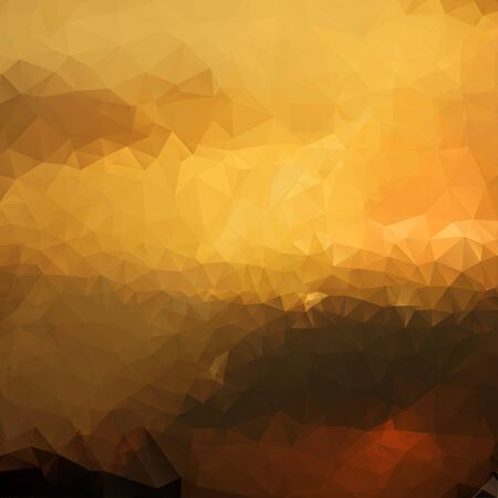 polyhedral: Abstract modern polygonal background