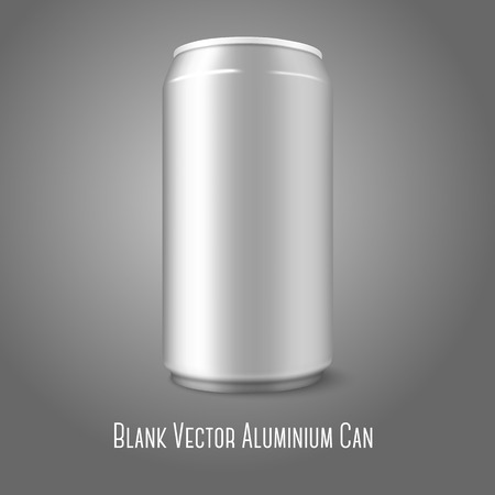 energy drink: Blank vector aluminium can, for different designs of beer, lager, alcohol, soft drinks, soda, lemonade, cola, energy drink, juice, water etc. Illustration