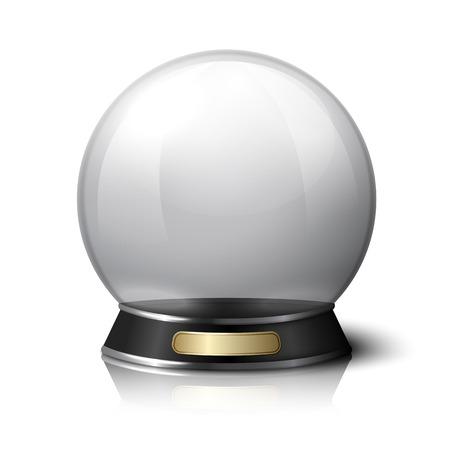 Vector Kristallkugel für Wahrsager. Standard-Bild - 36160936