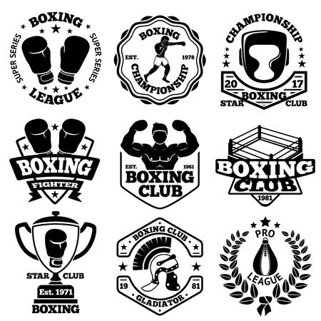 tough man: Boxing labels set