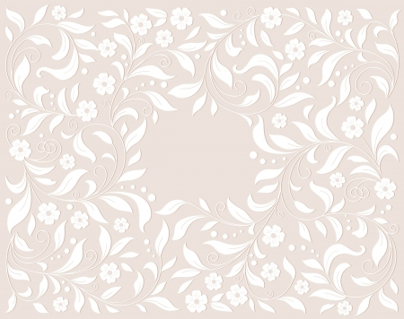 Template  frame design  for card Stock Vector - 16655753