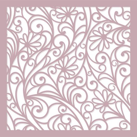 seamless  abstract  floral   background Imagens - 16755123
