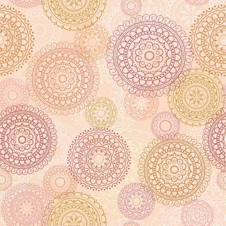 seamless pink abstract decorative background Stock Vector - 16909395