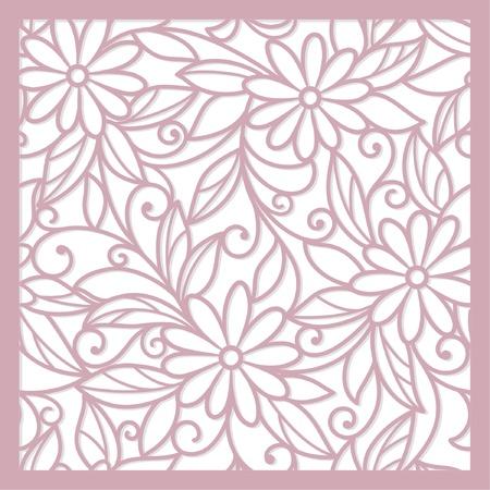 zökkenőmentes rózsaszín absztrakt virágos háttér