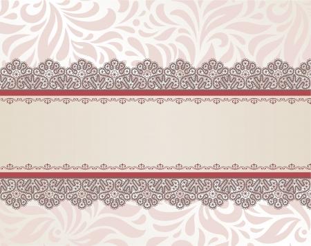 Sablon keret kialakítása a kártyás Illusztráció