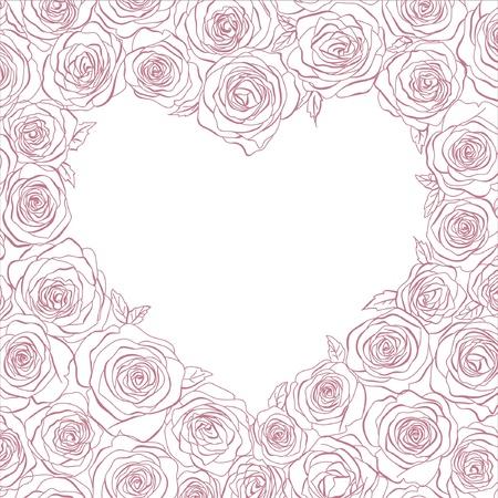 szív rózsa