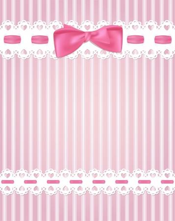 mo�os rosas: Plantilla de dise�o de marco para la tarjeta de felicitaci�n