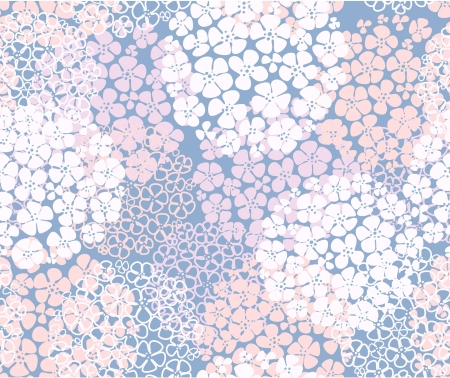 floral abstract: seamless abstract floral background