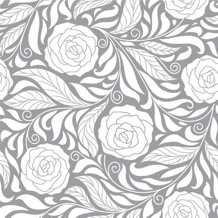 zökkenőmentes sötét virágos háttér rózsák