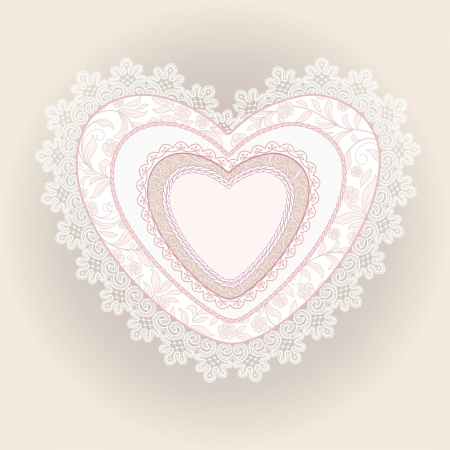 heart of laces Stock Vector - 21919717