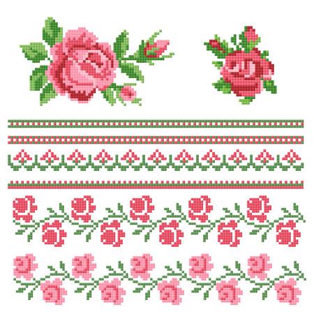 Floral decorativ element
