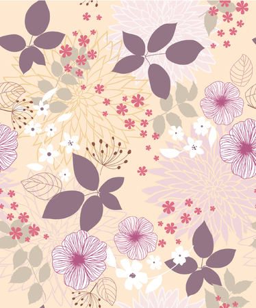 Seamless sfondo floreale
