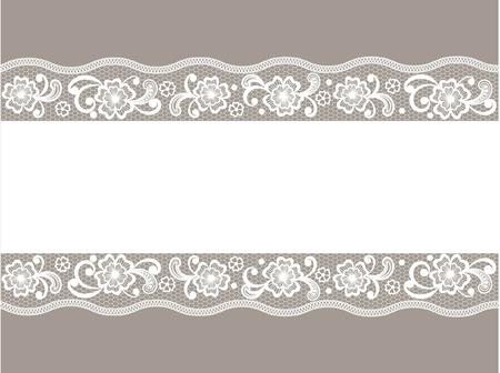 Template  frame design for card Ilustração