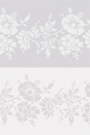 lappet: seamless floral background  Illustration