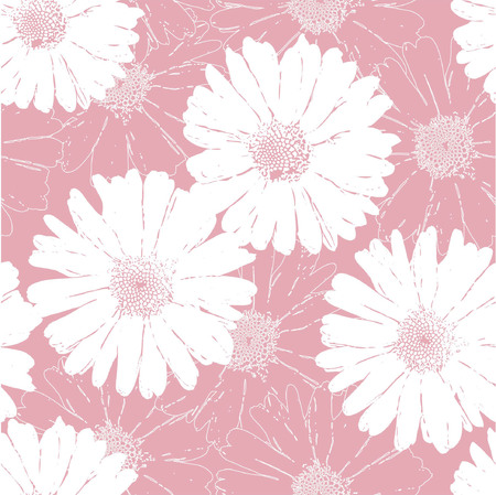 leaflets: seamless  abstract floral background