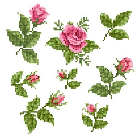 Elemento floral decorativ Foto de archivo - 31915281
