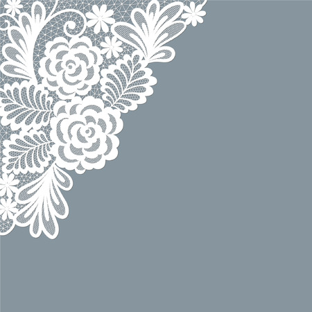 Template frame design for card. Ilustração