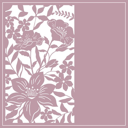 card: floral  card