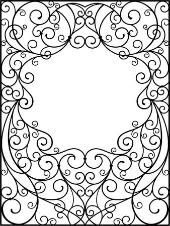 cast iron: frame