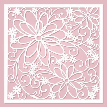 floral card Ilustração