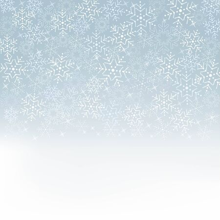 blue background  with snowflakes