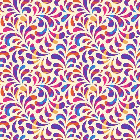Abstract bright seamless pattern.